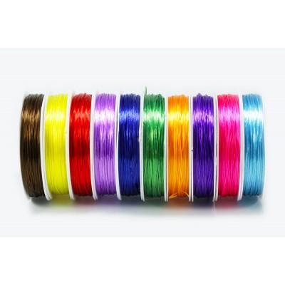Gummifaden elastisch, 0,8 mm, 10 m
