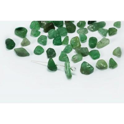 Edelstein Perlen, Aventurin grün, 5-8 mm, 50 Stück