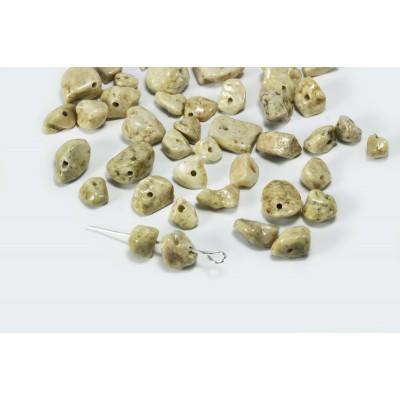 Edelstein Perlen, Jaspis, 5-8 mm, 50 Stück