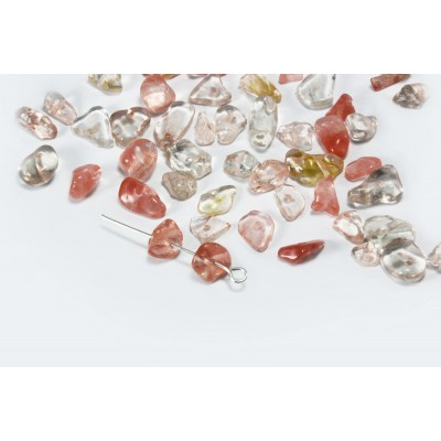 Edelstein Perlen, Karneol, 5-8 mm, 50 Stück